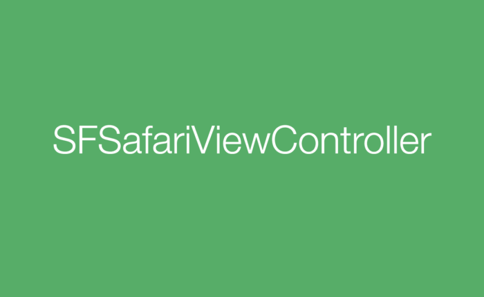 Opening a URL through SFSafariViewController – Talk Dev Design